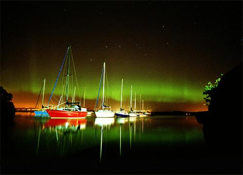 La Aurora Boreal en Escocia Mas Edimburgo Peter Urwin (3)
