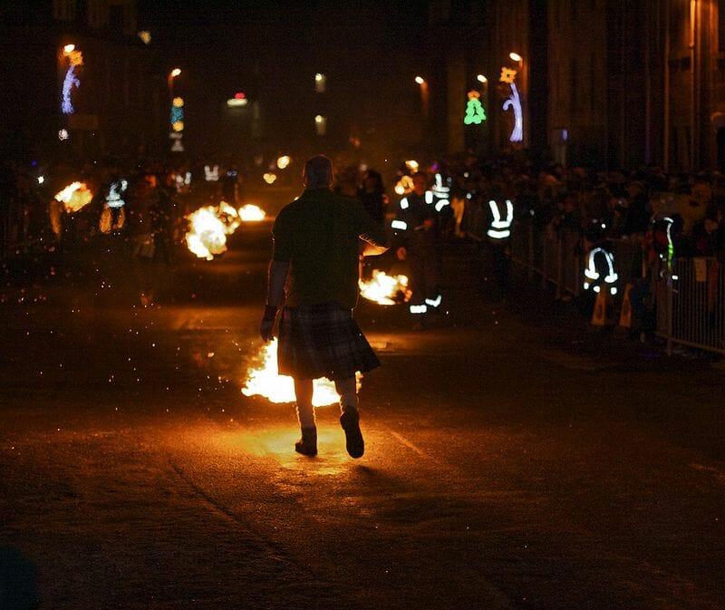 Tradiciones de Hogmanay Nochevieja en Escocia Mas Edimburgo 2