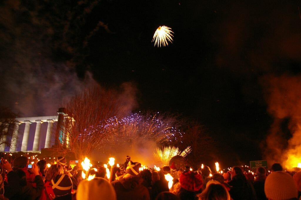 Tradiciones del Hogmanay, la Nochevieja en Escocia