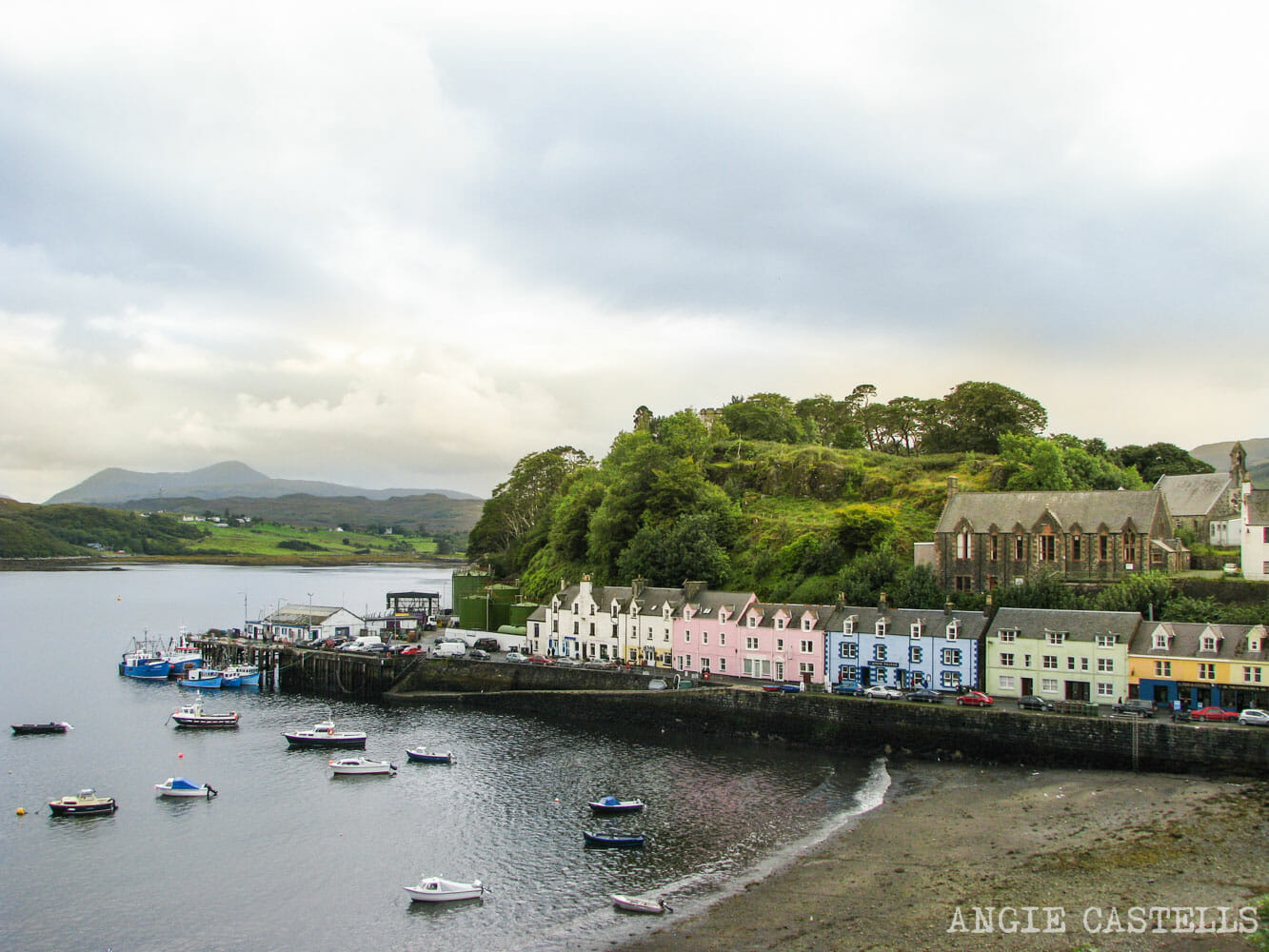 Visitar Portree Isla de Skye Excursion-1500
