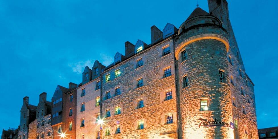 Dónde dormir en Edimburgo Radisson Blu