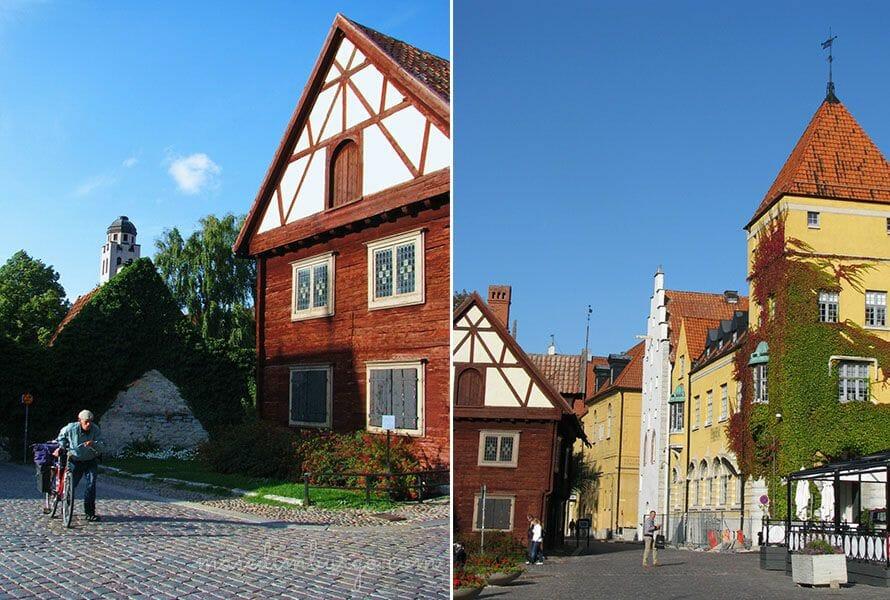 Un día en la ciudad amurallada de Visby, en la isla de Gotland