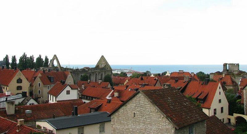 Un dia en la ciudad de Visby Mas Edimburgo (4)