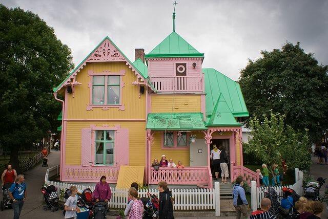 Casa de Pippi Calzaslargas, en Visby