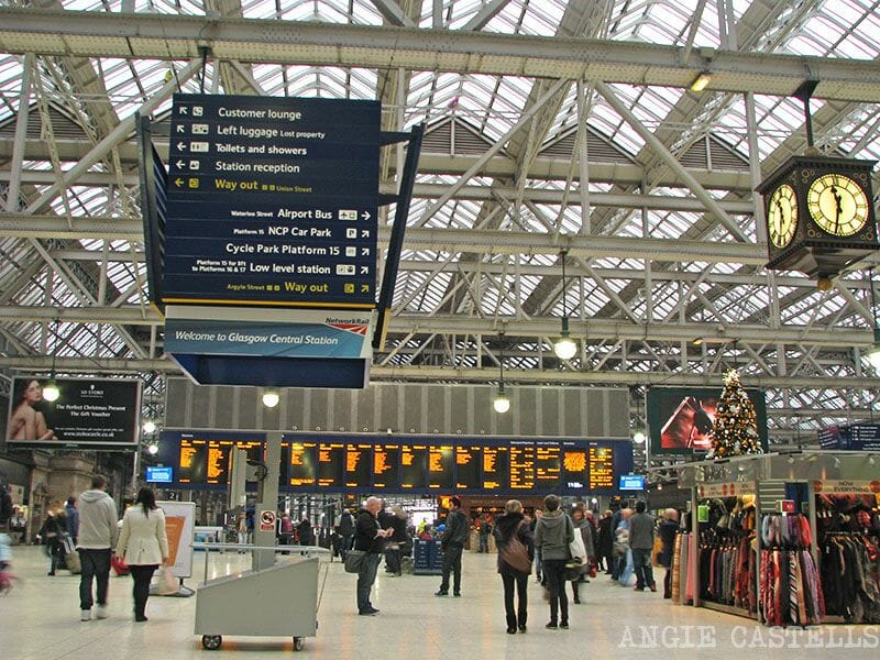 Como llegar a Glasgow desde el Prestwick Airport Central Station
