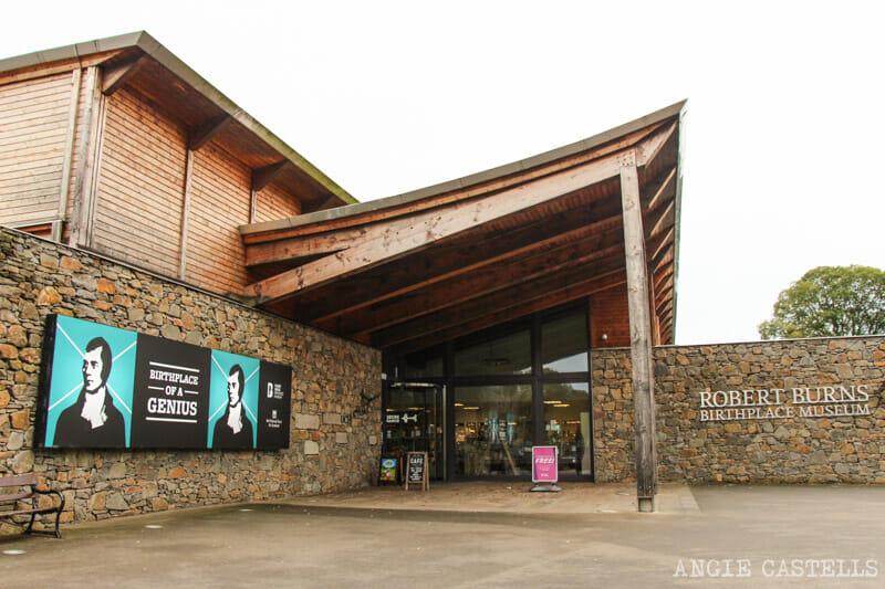La noche de Burns en Escocia - Burns Birthplace Museum en Alloway