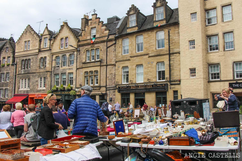 Mejores mercados de Edimburgo mercadillos