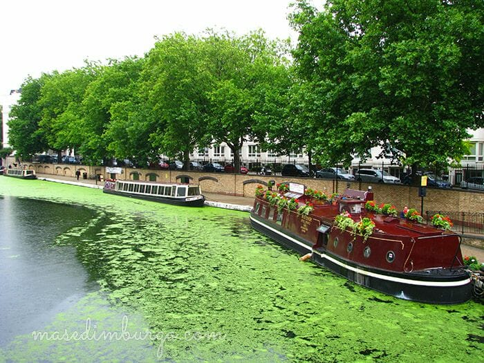 De Little Venice a Regents Park Mas Edimburgo7