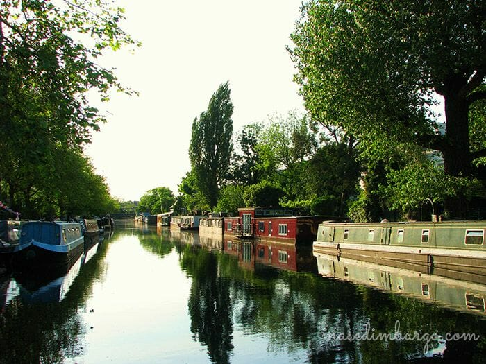 De Little Venice a Regents Park Mas Edimburgo8