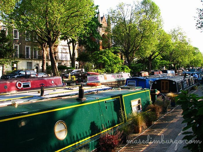 De Little Venice a Regents Park Mas Edimburgo10