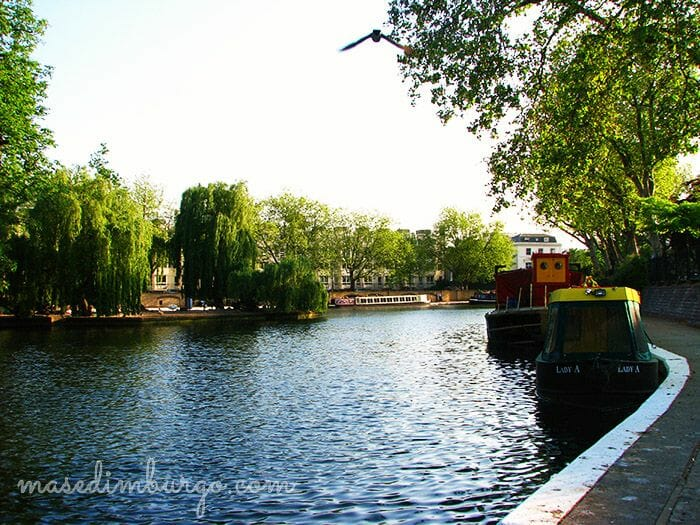 De Little Venice a Regents Park Mas Edimburgo12