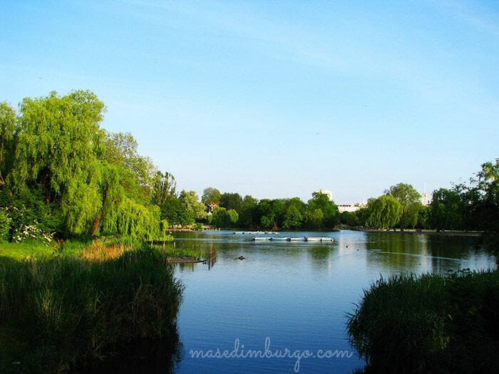 De Little Venice a Regents Park Mas Edimburgo13