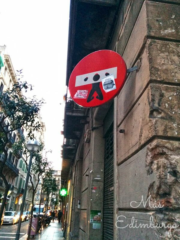 Clet Abraham Barcelona Mas Edimburgo