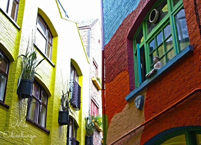 Neal's Yard, en Londres - Mas Edimburgo (1)