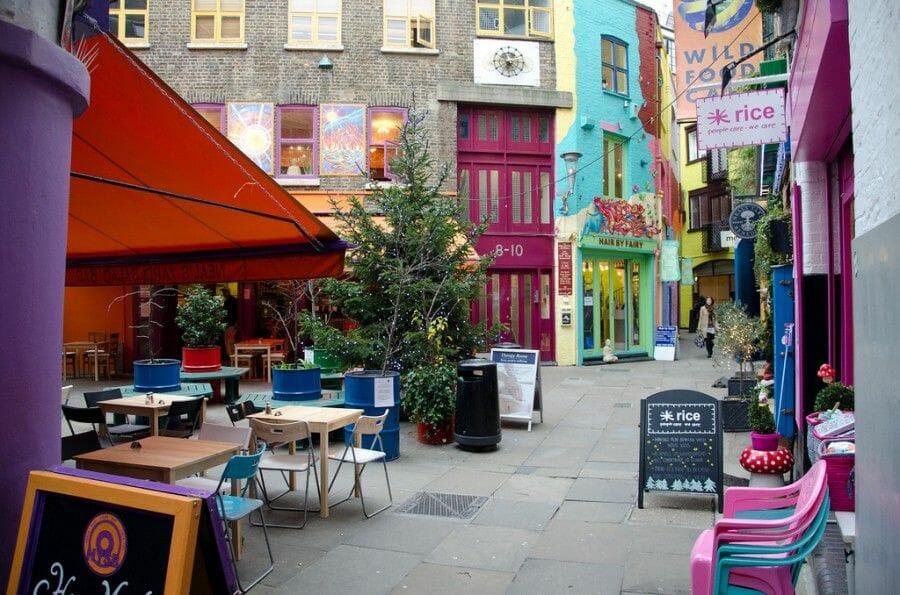 Neal's Yard, en Londres - Mas Edimburgo (8)