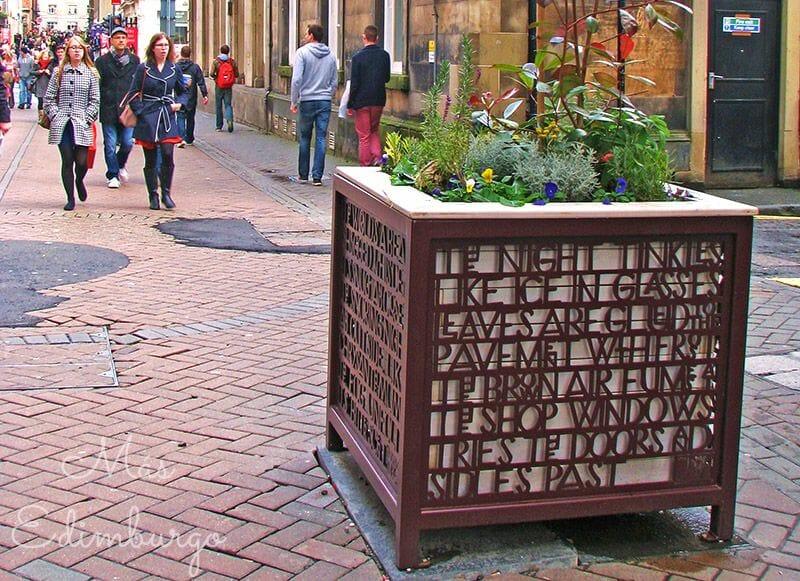 Edimburgo literario: Rose Street