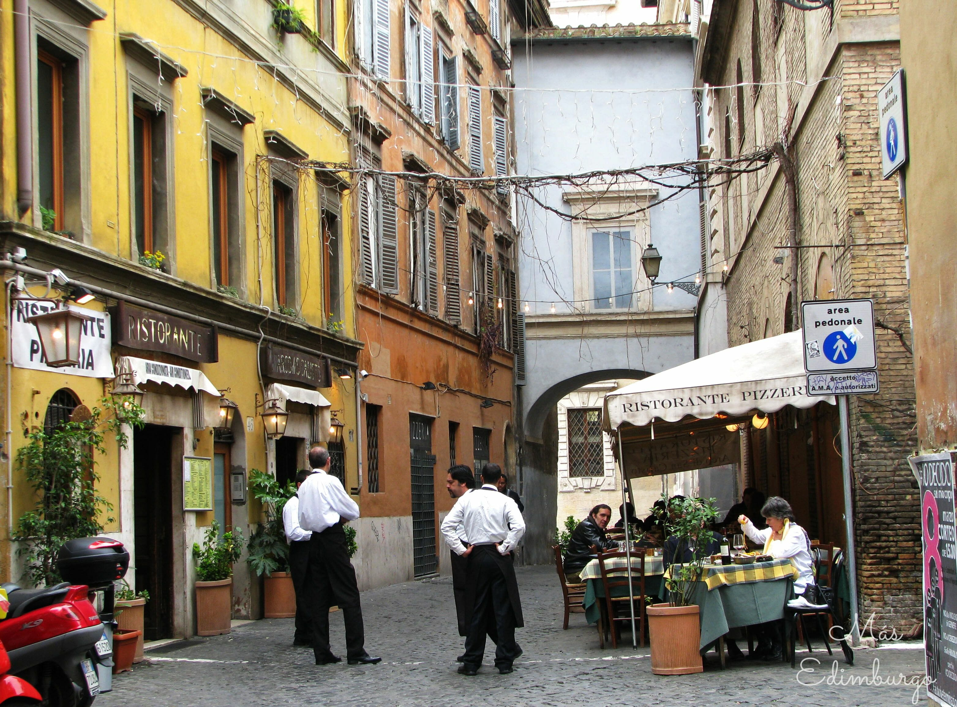 Trastevere, el barrio mas bonito de Roma Mas Edimburgo (2)