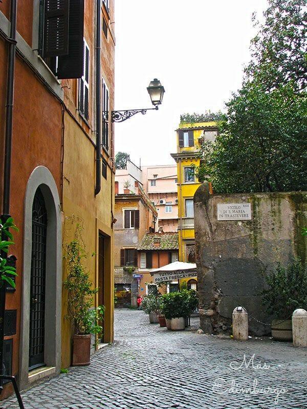 Trastevere, el barrio mas bonito de Roma Mas Edimburgo (3)