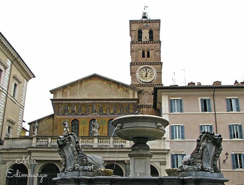 Trastevere, el barrio mas bonito de Roma Mas Edimburgo (5)