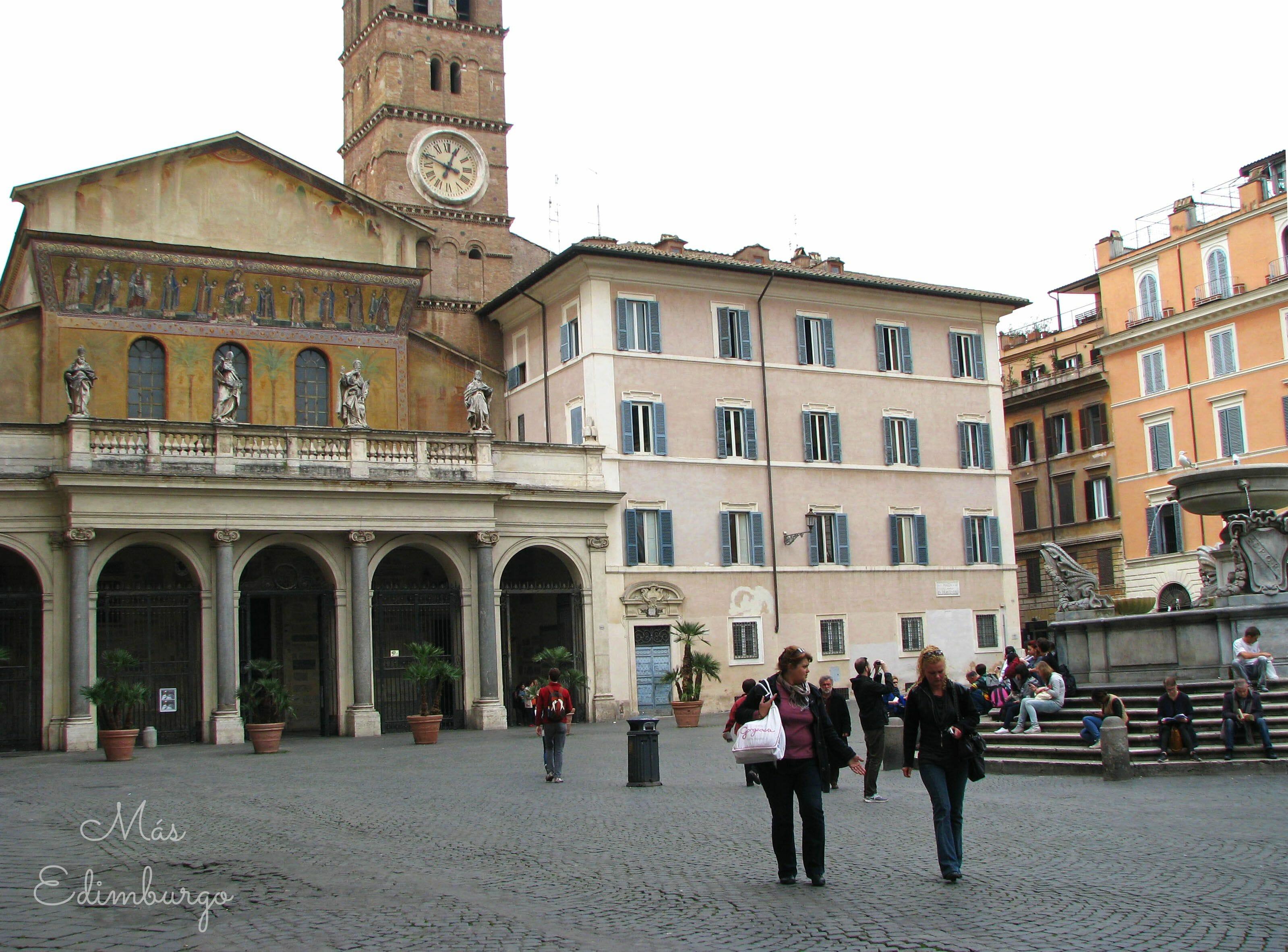 Trastevere, el barrio mas bonito de Roma Mas Edimburgo (6)