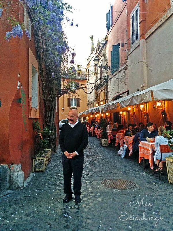 Trastevere, el barrio mas bonito de Roma Mas Edimburgo (9)
