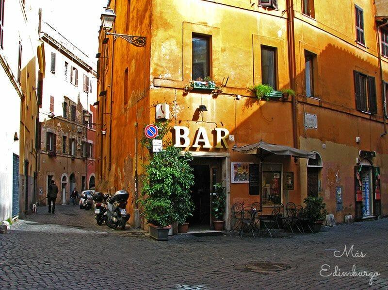 Trastevere, el barrio mas bonito de Roma Mas Edimburgo (11)