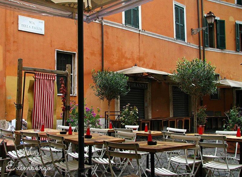 Trastevere, el barrio mas bonito de Roma Mas Edimburgo (13)