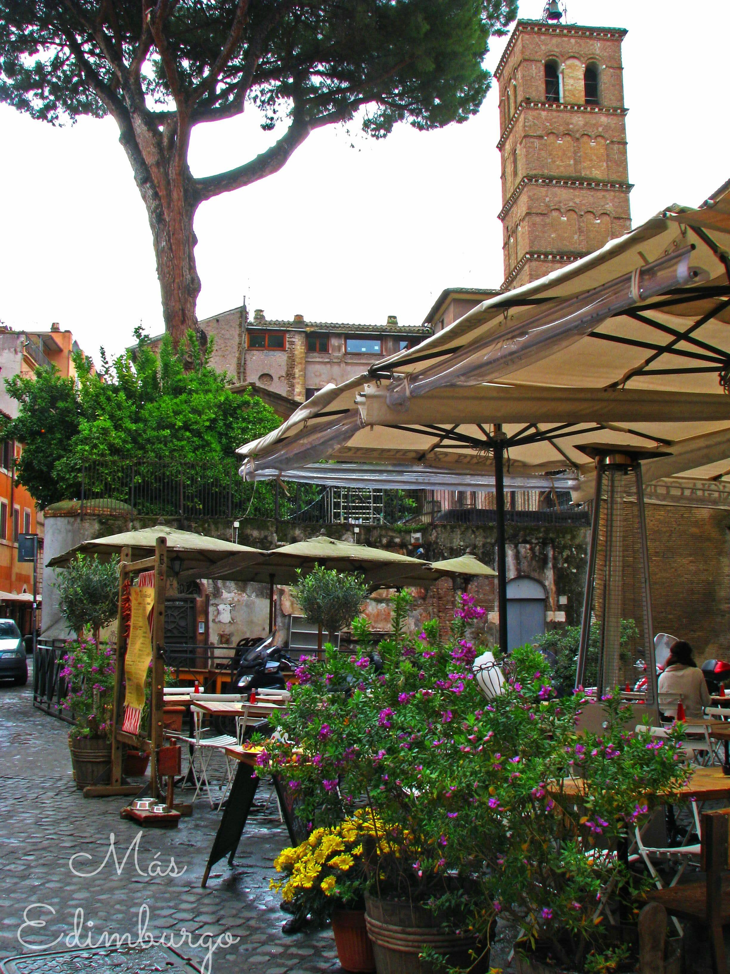 Trastevere, el barrio mas bonito de Roma Mas Edimburgo (14)