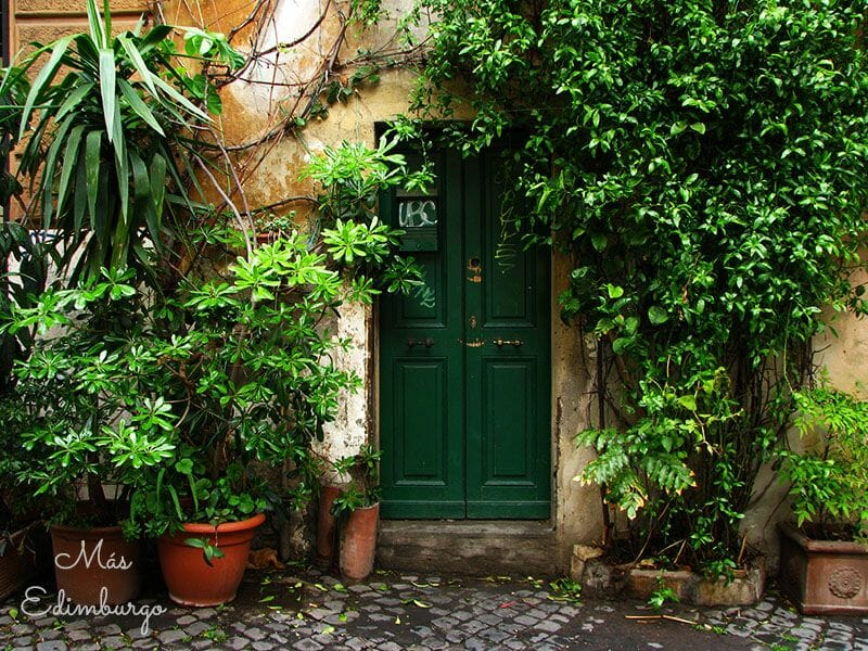 Trastevere, el barrio mas bonito de Roma Mas Edimburgo (16)