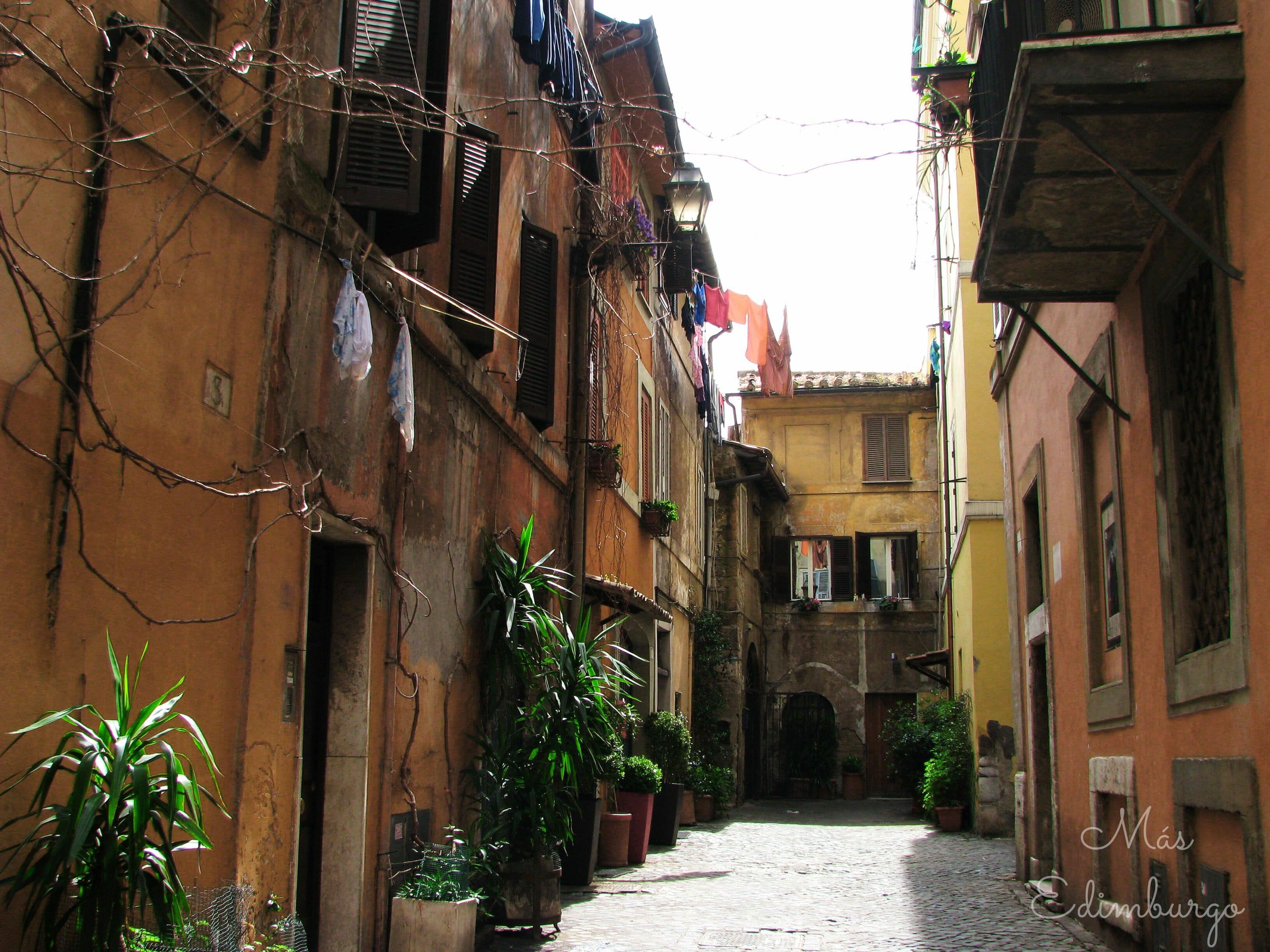Trastevere, el barrio mas bonito de Roma Mas Edimburgo (20)