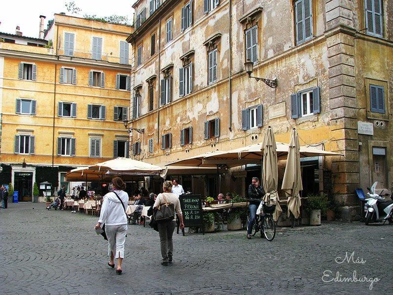 Trastevere, el barrio mas bonito de Roma Mas Edimburgo (25)