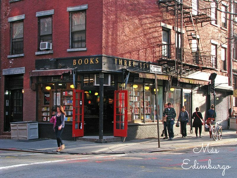 Librerias con encanto en el mundo Mas Edimburgo (1)