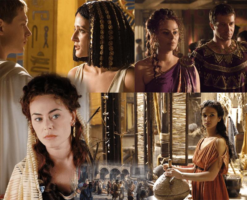 Mujeres que mueven el mundo en «Roma» (HBO, 2005-2007)