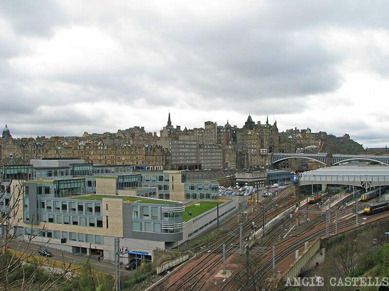 Ir de Glasgow a Edimburgo estacion de tren