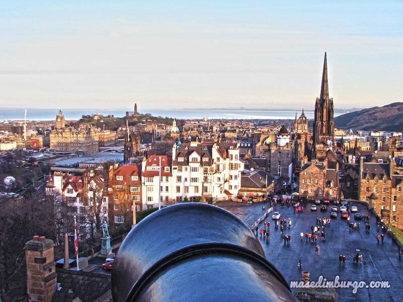 Los mejores miradores de Edimburgo: el castillo de Edimburgo