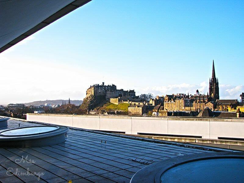 Los mejores miradores de Edimburgo: la terraza del National Museum of Scotland