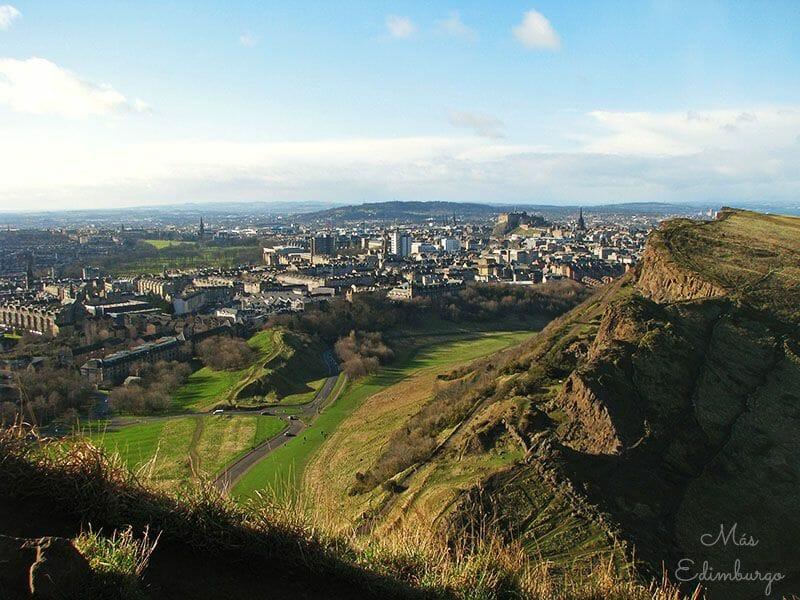 Los mejores miradores de Edimburgo: Arthur's Seat
