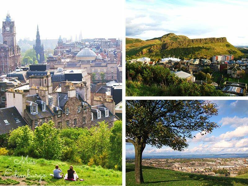 Los mejores miradores de Edimburgo: Calton Hill