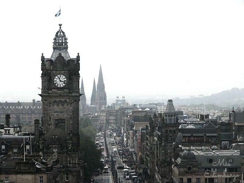 Mejores miradores de Edimburgo Nelson Monument