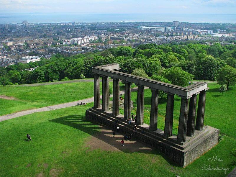 Mejores miradores de Edimburgo Nelson Monument2