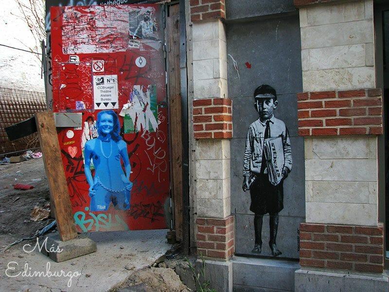 Ruta del comic y graffitis en Bruselas Mas Edimburgo 5