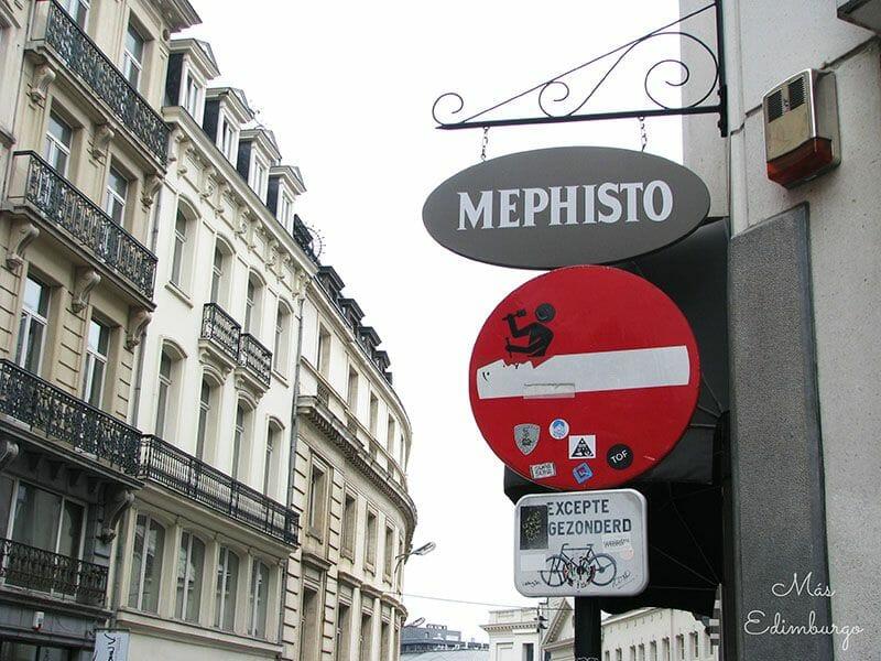 Ruta del comic y graffitis en Bruselas Mas Edimburgo 7