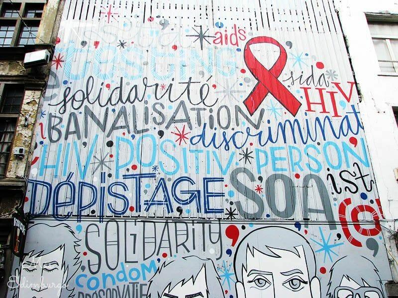 Ruta del comic y graffitis en Bruselas Mas Edimburgo 11