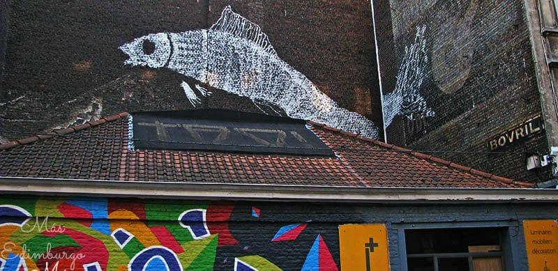 Ruta del comic y graffitis en Bruselas Mas Edimburgo 12