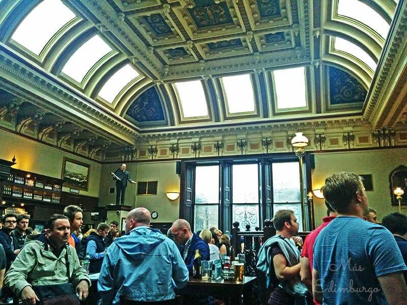 Comer en Edimburgo The Standing Order 3