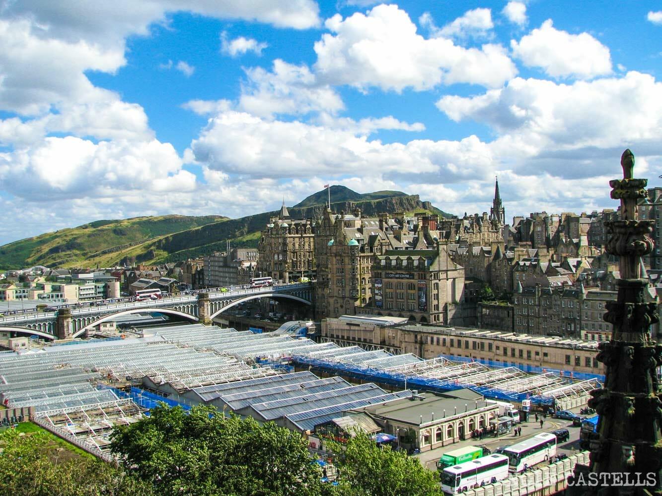 Mejores miradores de Edimburgo Scott Monument