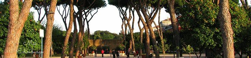 Guia de Roma - Jardín de los naranjos y caballeros de Malta (1)
