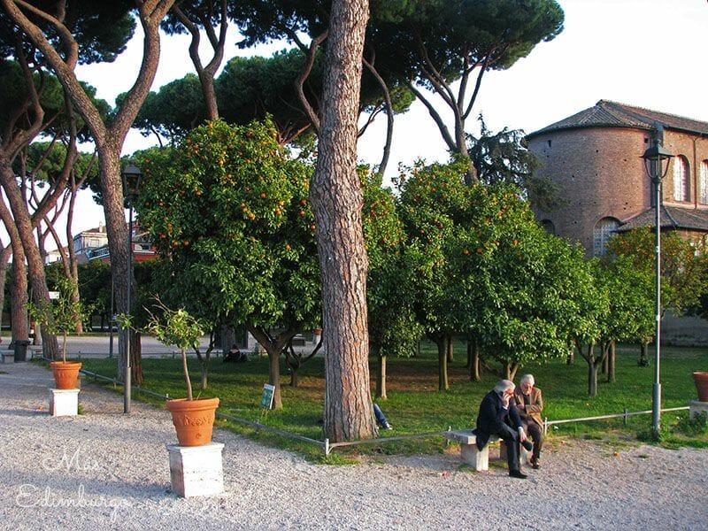 Guia de Roma - Jardín de los naranjos y caballeros de Malta (2)