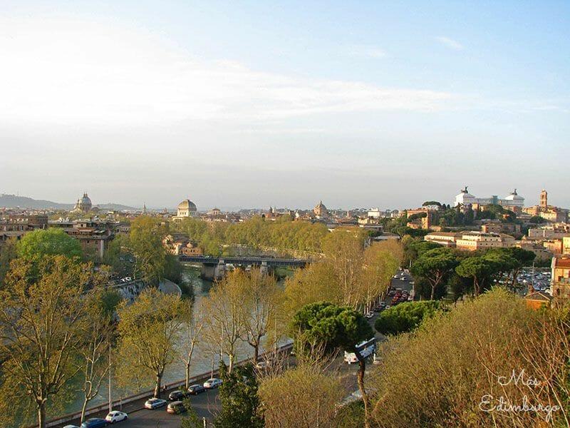 Guia de Roma - Jardín de los naranjos y caballeros de Malta (3)