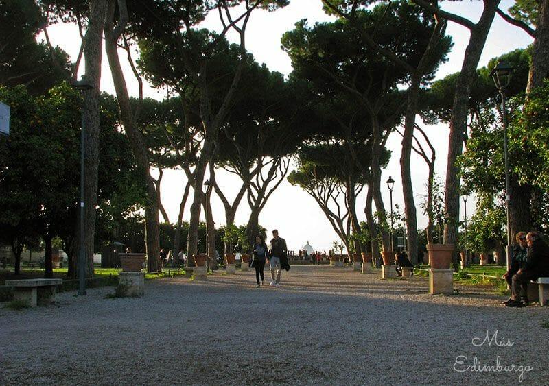 Guia de Roma - Jardín de los naranjos y caballeros de Malta (7)
